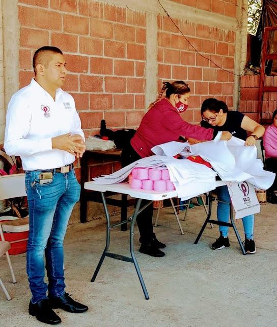 Paco Cedillo fortalece la economía de las comunidades en Uruapan