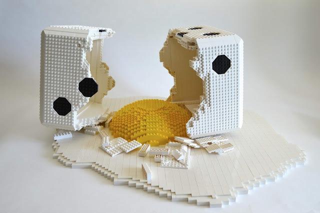 lego, art, portraits, 2D, 3D, Dirk Denoyelle, Amazings
