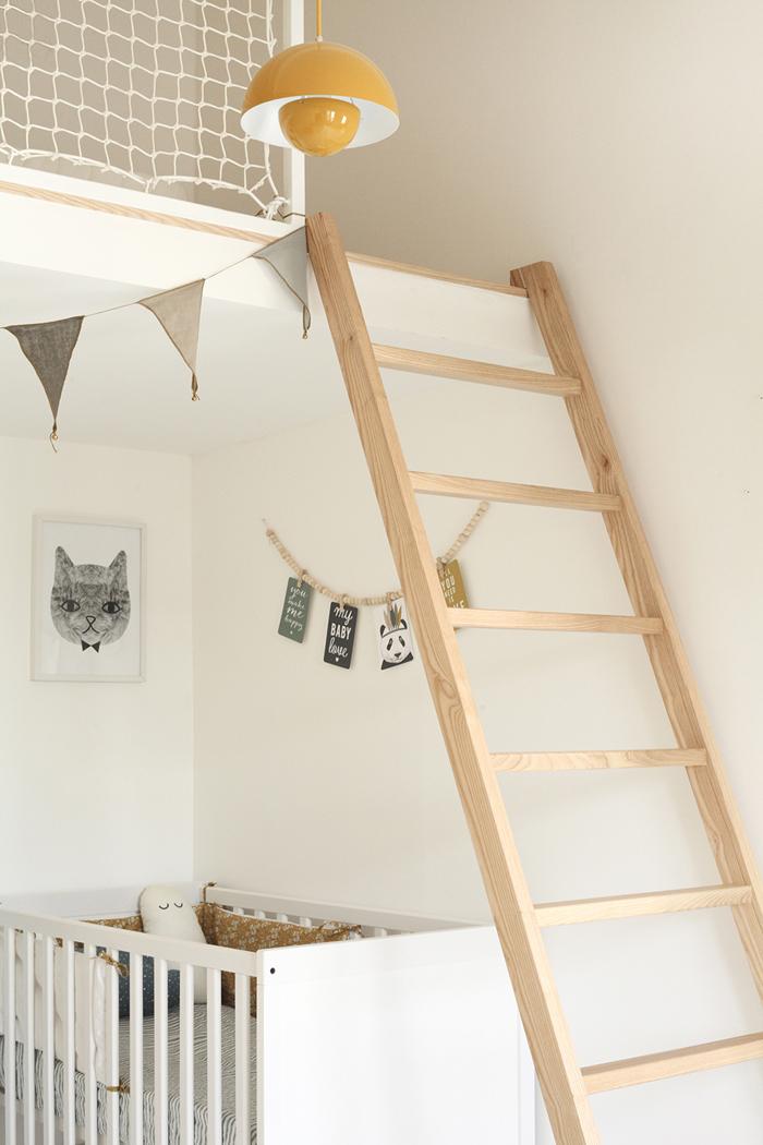 Custom made loft bed