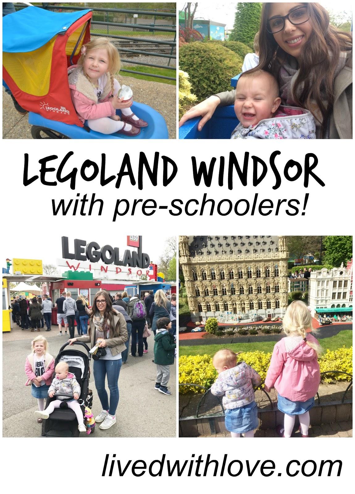 Legoland Windsor with pre-schoolers - top tips!