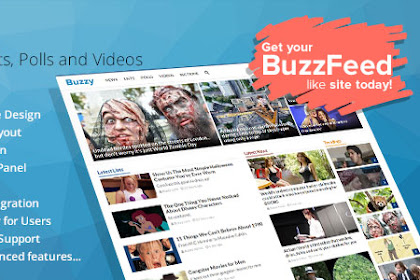 Download Buzzy v3.0.3 Nulled - News, Viral Lists, Polls and Videos