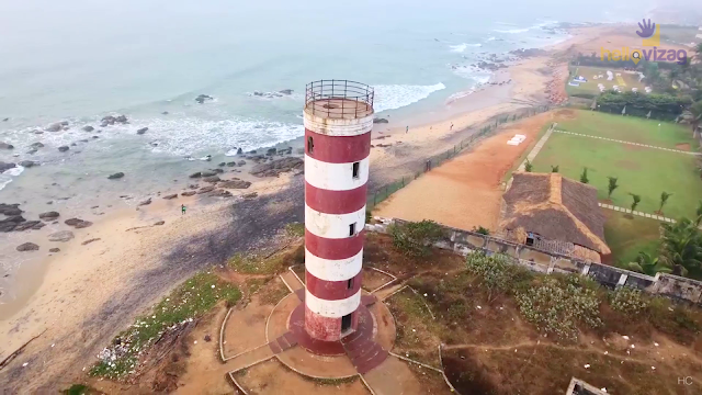 yarada beach lighthouse