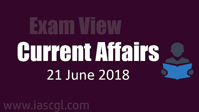 Current Affair 21 June 2018