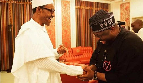 Buhari sends message to Dele Momodu as he clocks 60
