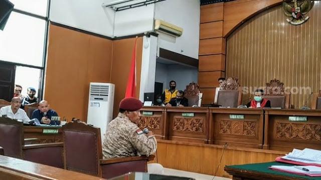 Jadi Saksi Gugatan Praperadilan Ruslan Buton, Kolonel Sugeng Waras : Apanya yang Buat Gaduh?