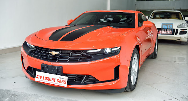THE FIRST CHEVROLET CAMARO AMERICAN MOTORCYCLE 2019 IN VIETNAM