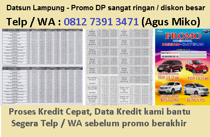 Datsun Lampung Dealer Promo Harga