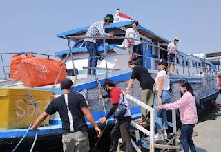 Di Pelabuhan Kali Adem, Pengawasan Ketat Penumpang Paham