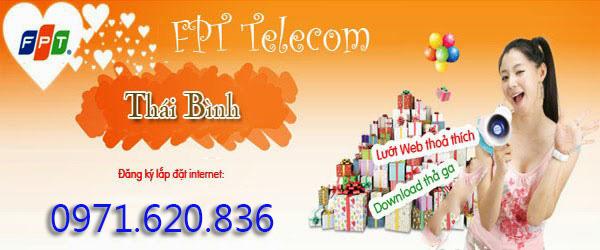 Lắp Mạng Internet FPT Thành Phố Thái Bình