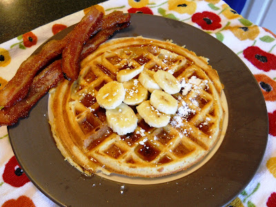 Brown Sugar Bacon Waffles Image | NeighborFood