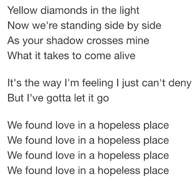 We Found Love Lyrics