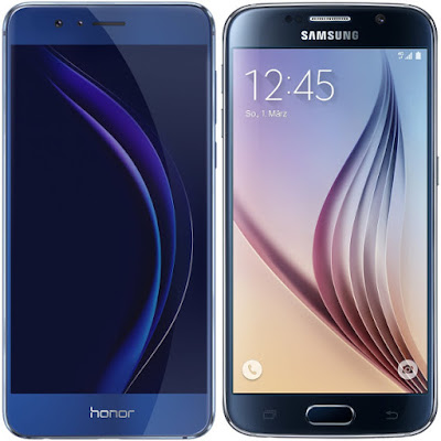 Honor 8 vs Samsung Galaxy S6