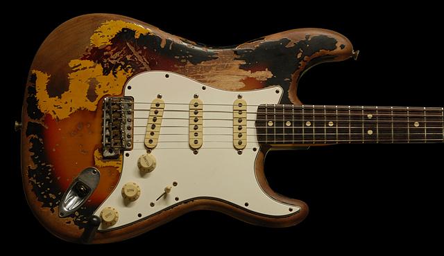 Fender 63 Strat Hiram Bullock Concept Body Relic Refinish