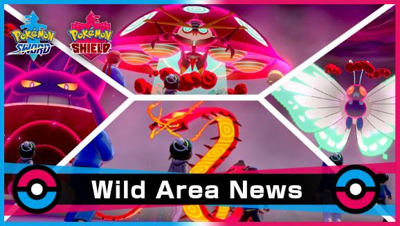 Evento Wild Area Pokémon Gigantamax