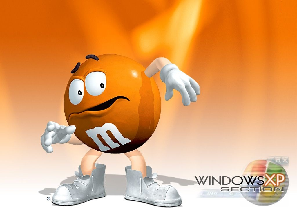 M And M Wallpaper: Damien Wallpapers: Windows XP Funny Wallpapers
