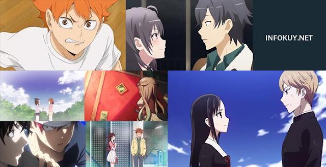 Rekomendasi Anime School 2020 Terbaik