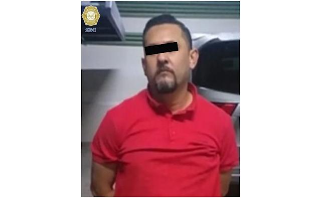 Ya fue capturado en tan solo momentos después capturan a Sicario que ejecuto a El Chatarrero del Cártel de Sinaloa en la CDMX