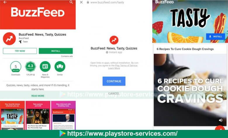 أين أجد التطبيقات الفورية - Instant Apps في متجر بلاي ؟