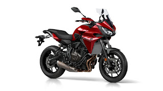 YAMAHA Tracer 700 red