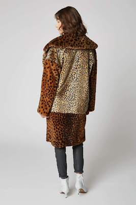 cheetah print warm cozy