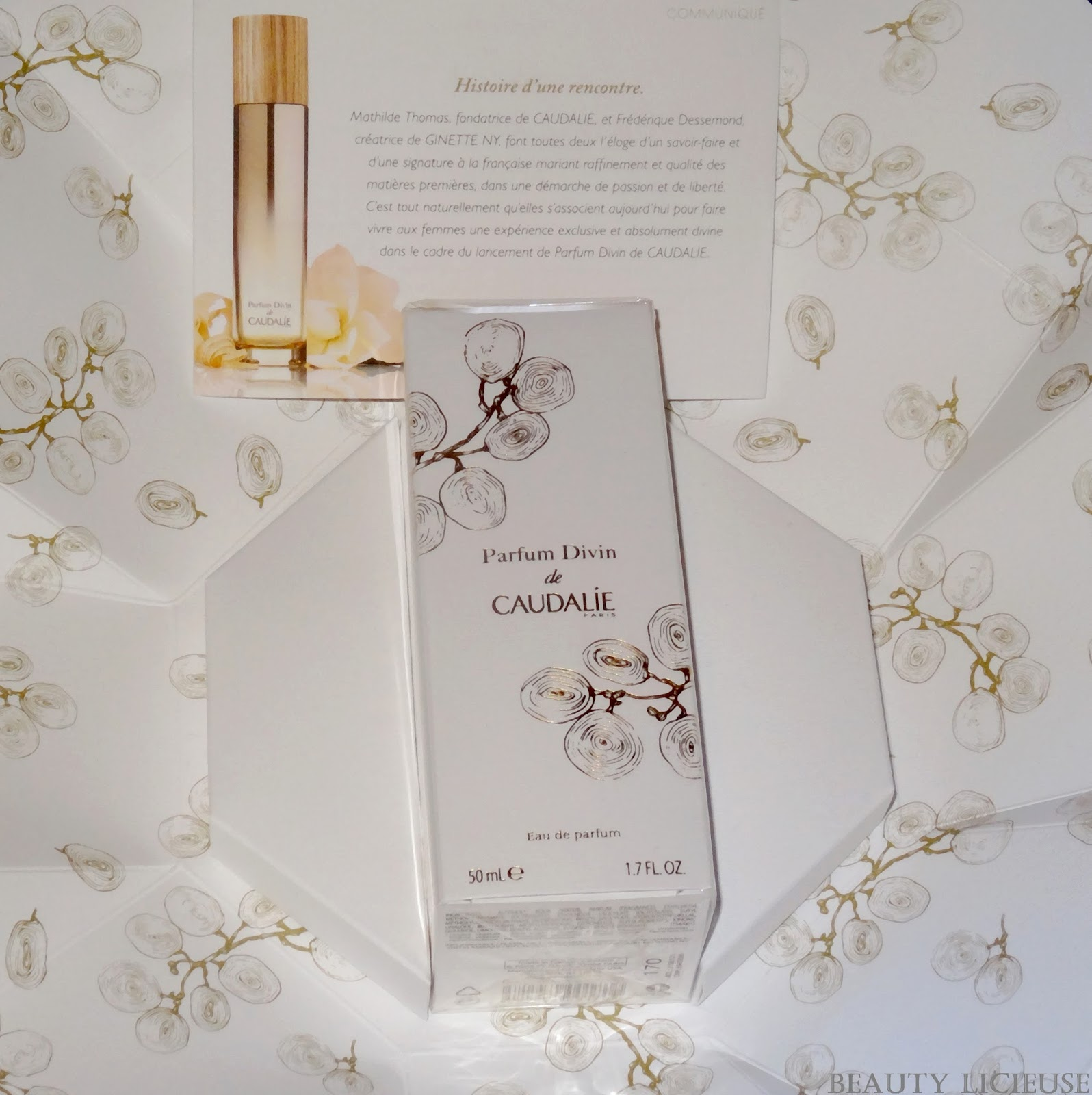 signature flacon parfum