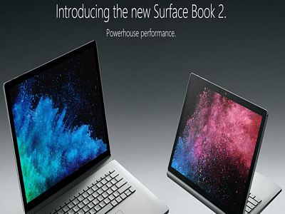微軟筆電Surface Book 2