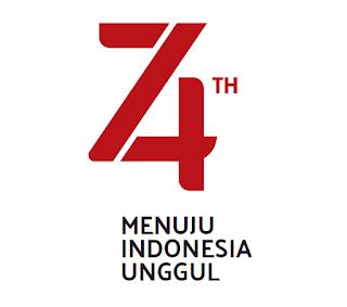 logo HUR RI 74  tahun 2019