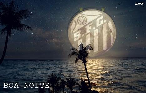 Logo do Santos de BOA NOITE
