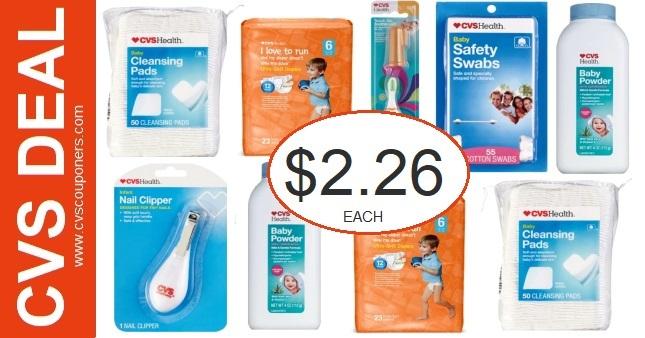 CVS Health Baby Diaper Product Deals