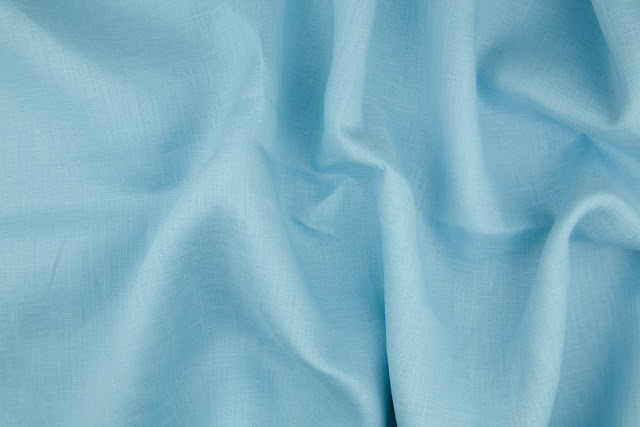 Baby Blue Handkerchief Linen Fabric