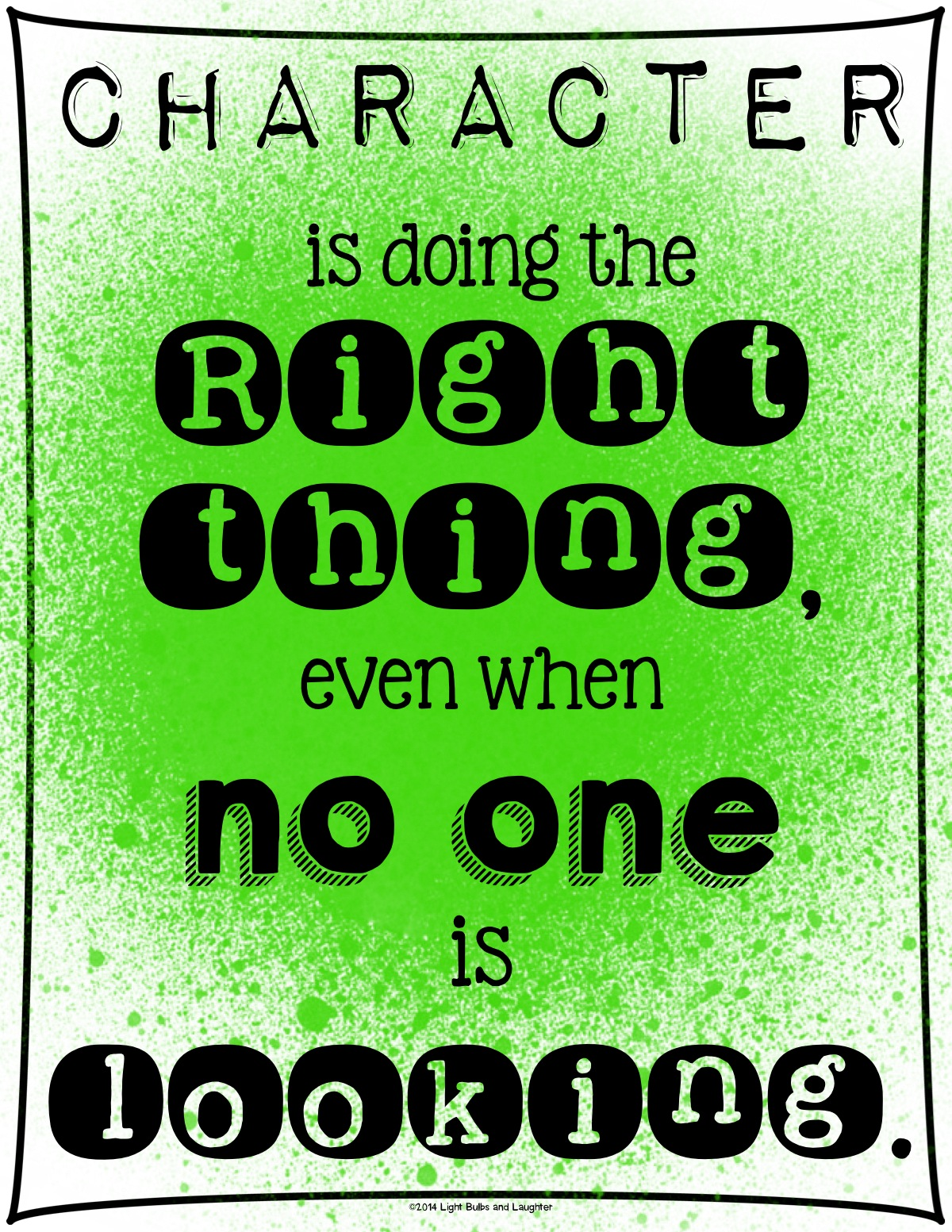 Classroom Posters For Every Teacher - Light Bulbs and Laughter