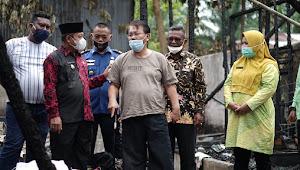 Korban Kebakaran di Tanjungbalai Dapat Bantuan Dari Plt Wali Kota