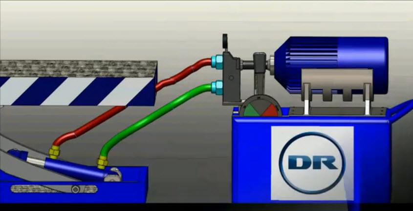 3d Animation Of Small Hydraulic Scissor Lift Operating