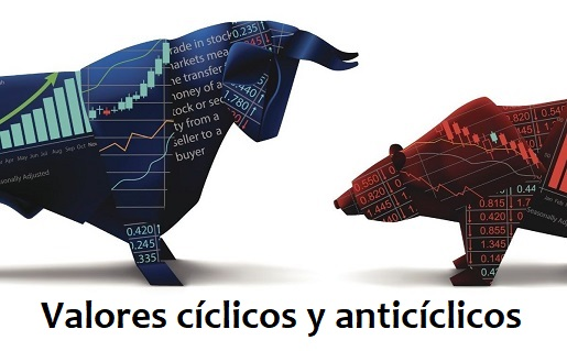 Diferencias entre valores cíclicos y defensivos o anticíclicos