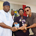 Humblesmith Specially Present Beautiful Lagos Track Album to Governor Ambode