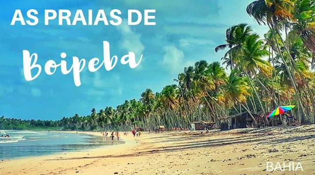 praias da ilha de boipeba bahia