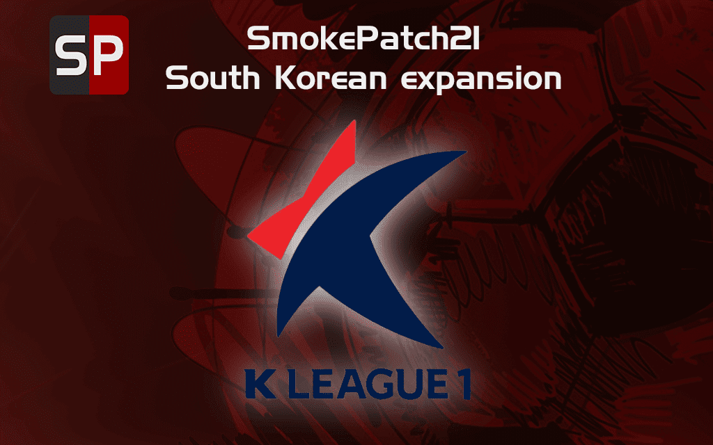 "eFootball PES 2021 - South Korean ""K League 1 Patch ( smokepatch21 version 21.3.3 or newer)"