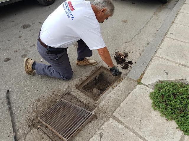 ΔΕΥΑ Ναυπλίου: Παρά την έντονη βροχόπτωση δεν παρατηρήθηκε πρόβλημα στην απορροή των υδάτων