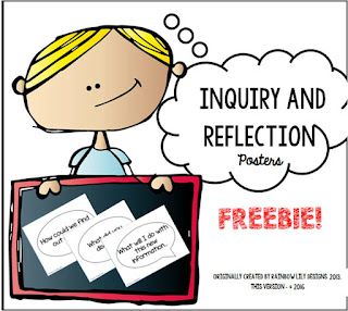 inquiry and reflection science posters