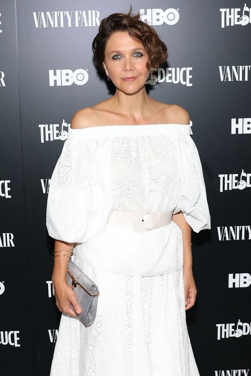 Maggie Gyllenhaal Clicks at The Deuce Screening in New York 5 Sep-2019