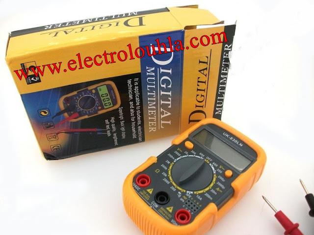 جهاز الاختبار ( آفو- مالتيميتر Digital Multimeter )