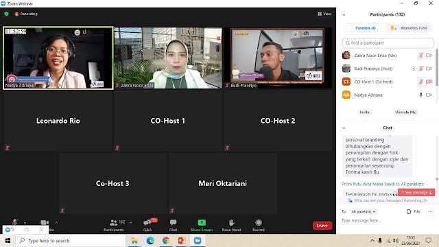 Digital Personal Branding Bersama Sara Neyrhiza
