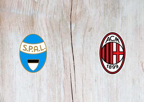 SPAL vs Milan Full Match & Highlights 01 July 2020