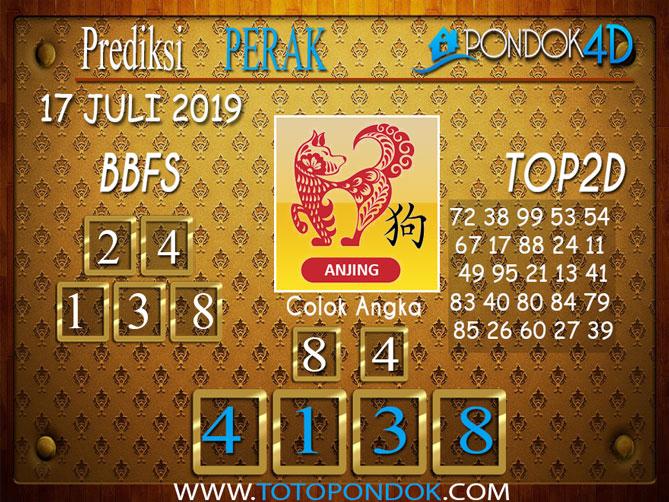Prediksi Togel PERAK PONDOK4D 17 JULI 2019