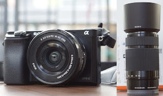Jual Mirrorless Sony Alpha A6000 Double Lensa Second