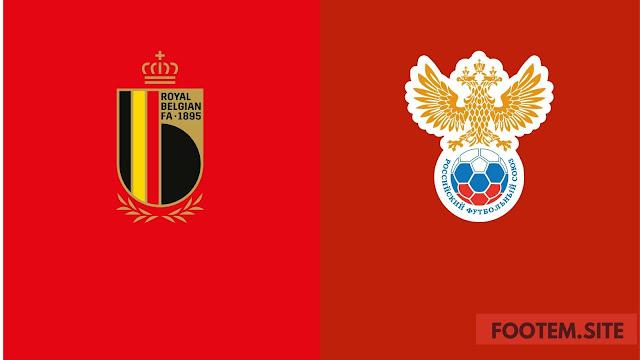 Euro Cup Belgium vs Russia