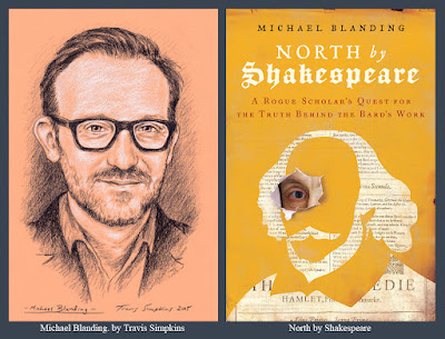 Michael Blanding. Investigative Journalist. North by Shakespeare. Sir Thomas North. by Travis Simpkins