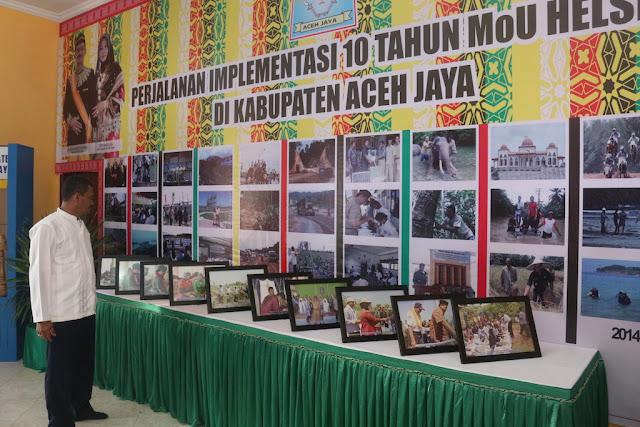 Ada Foto Perjalanan 10 Tahun MoU Helsinki di Anjongan Aceh Jaya