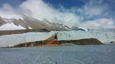 Blood falls – Antarctica