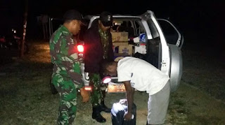 Mantap Tentara Nasional indonesia (TNI) Berhasil Mengagalkan Penyelundupan Miras Senilai Rp 300 Juta di Wilayah Papua - Commando